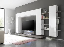 Living Room Cupboard Furniture Design Cabinet High Gloss Living Room Set Lights Stand High Led Tv Wall