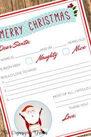 christmas wish list free christmas wish list printable the organized