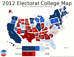Colorado On The Map by Frontloading Hq The Electoral College Map 8 7 12