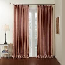 Premium Curtains Twopages Zoomtist Collection Premium Mediterranean Rust Cotton