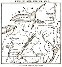 ohio river valley map why did the and indian war take place history of