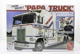 kenworth aerodyne truck tyrone malone u0027s papa truck amt 932 1 25 new truck model kit
