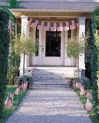 creative ways to display the american flag martha stewart