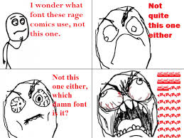 What Font Do They Use In Memes - 71 funny rage comics le rage comics