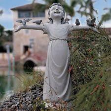 large crane garden statue yard decor outdoor ornaments lawn