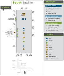 Seatac Terminal Map Sea Tac Airport Maplets