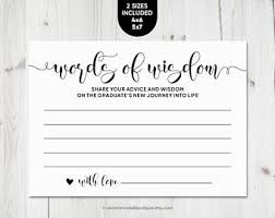words of wisdom for and groom cards words of wisdom etsy