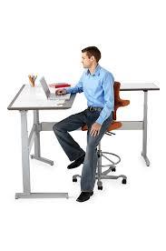 bureau debout assis tables izzy rylee bluecony bureaux ergonomiques réglables en