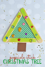 snowman popsicle stick ornament make and takes