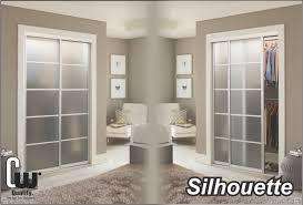 glass door tampa sliding closet doors with glass or mirror the glass door store