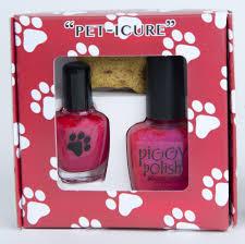 pet icure dog nail polish piggy polish
