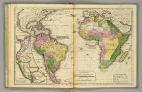 south america map buy south america africa david rumsey historical map collection