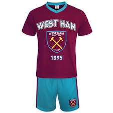 West Ham Duvet Cover Buy West Ham United Fc Mens Short Pyjamas From Our Men U0027s Nightwear