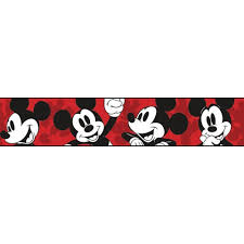 dy0215bd disney classic mickey mouse border disney kids iii