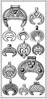 moon symbol it is a pagan symbol found in ancient slavic and
