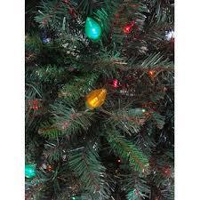 equinox 7 5 pre lit led retro pine artificial tree
