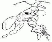 ultimate spiderman 4 coloring pages printable