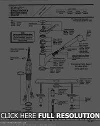 sink u0026 faucet simple repair moen single handle kitchen faucet
