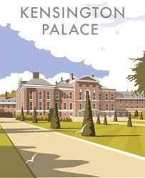 kensington palace art print carteles david thompson