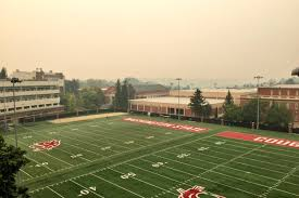 Washington State Wildfire Air Quality by Wsu U0027s First Practice Before Boise State Forced Indoors Due To