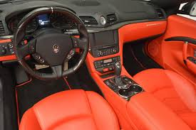 orange maserati 2013 maserati granturismo mc stock 7081 for sale near westport
