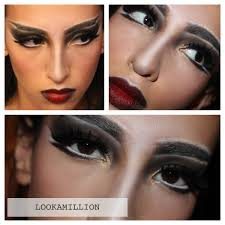 lookamillion vampire witch halloween makeup ideas