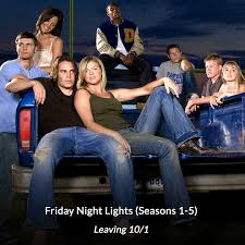 is friday night lights on netflix e news on twitter netflix is getting rid of one tree hill friday