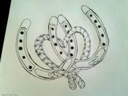 feminine horseshoe tattoo designs google search random