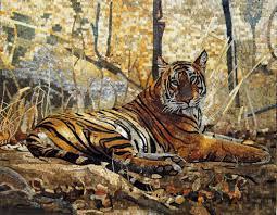 westernandanimals mosaics your way animal mosaics tiger mosaic