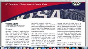 b2 visa invitation letter visitor or tourist visa b1 b2 visa application usa youtube