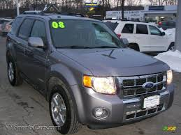 Ford Escape Limited - 2008 ford escape limited 4wd in tungsten grey metallic c07404