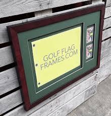 Flag Shadow Box Michaels Golfflagframes Golf Flag Frames Retail Picture Frame Shop