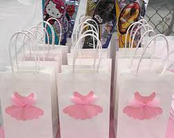 personalized party favor bags ballerina party favor bags customized personalized party
