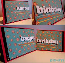 big birthday cards diy seeing birthday card diy fyi creatively created