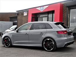 nardo grey rs3 used 2015 audi rs3 rs3 sportback quattro for sale in west