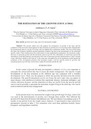 si e cr it agricole the estimation of the growth curve at pdf available