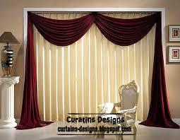Curtain Style Velvet Red Curtain Ideas Velvet Drapes Curtain Design