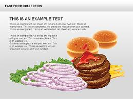Fast Food Ppt Fast Food Shapes And Charts For Powerpoint Fast Food Ppt