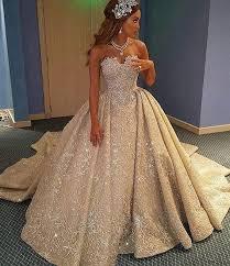 luxurious a line wedding dress strapless sleeveless lace court