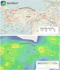 Map Turkey Temblor Adds Faults For 50 Countries Temblor Net