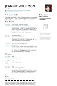 Education Resume Examples by Resume For Science Teacher Best Resume Collection