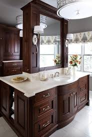 Traditional Double Sided Kitchen Double Sided Vanities Bathroom Traditional With White Countertop L