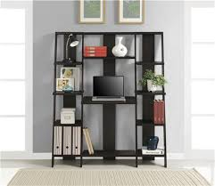 ameriwood furniture gradient ladder desk bookcase espresso