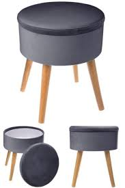 Makeup Stool With Storage