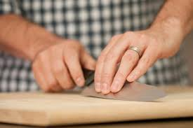 how to sharpen a knife with sandpaper pictures how to