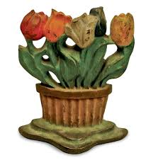 Seeking Cactus Cast Antiques Cast Iron Door Stops New Today