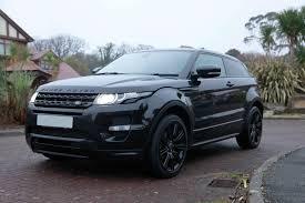 land rover evoque black best cars range rover evoque sd4 2 2 dynamic sicilian limited
