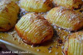 recette de cuisine pomme de terre pommes de terre rôties à la suédoise quand nad cuisine