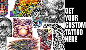 get your custom tattoo now tattoo designer online