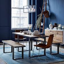 Slope Leather Dining Chair West Elm - West elm dining room chairs